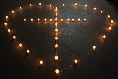 The Four Candles Of Advent by Royston Allen