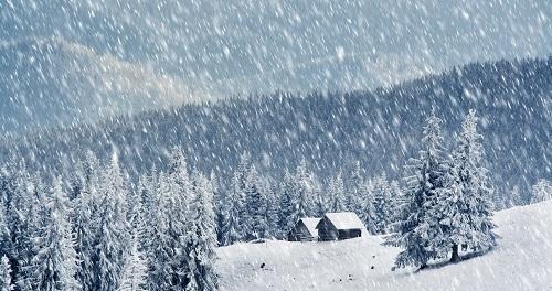 Snowfall by Ravi Shankar