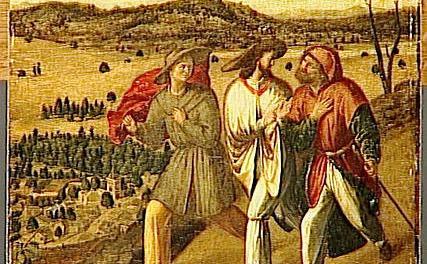 The Disciples' Road by Johann Ernst von Holst